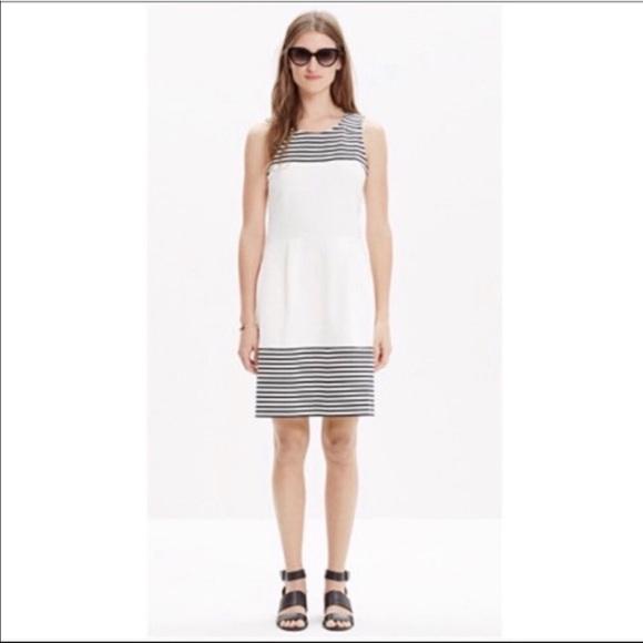 Madewell Dresses & Skirts - 2/$15 Madewell Striped Sleeveless Sheath Dress